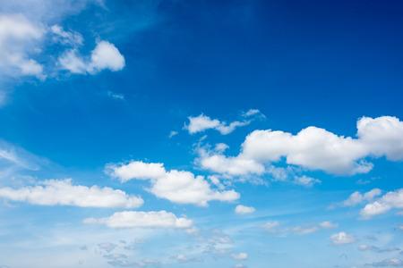 Photo pour beautiful clouds in the  blue sky of Thailand - image libre de droit