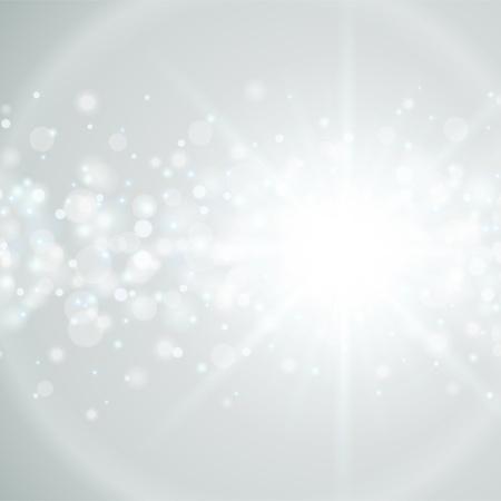 Ilustración de Lens flare light vector background eps 10 - Imagen libre de derechos