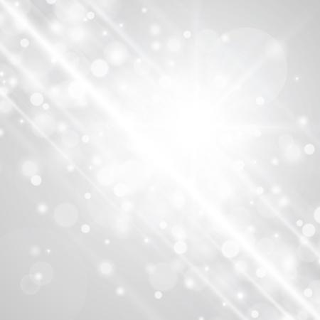 Lens flare light vector background
