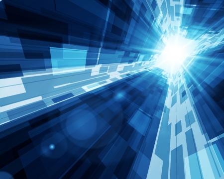 Illustration pour Virtual tecnology  background   - image libre de droit