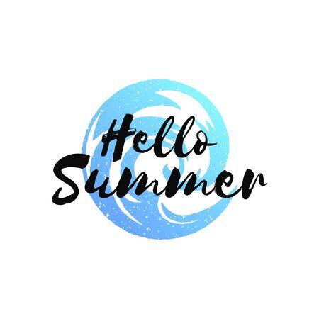 Illustration pour Typography summer holidays t-shirt design vector illustration. - image libre de droit