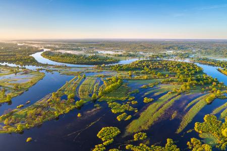 Foto de River Prypiac' (Belarus) in the spring - Imagen libre de derechos