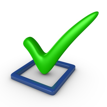 Checkbox with a checkmark