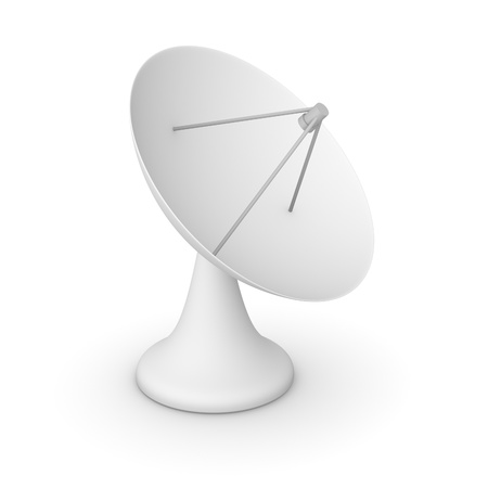 Simple 3d model of satellite dish