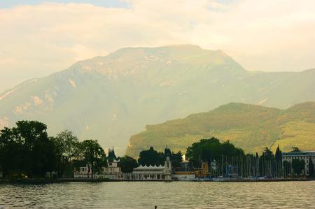 Big Lake Garda in Italy