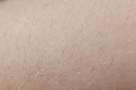 Photo pour skin of a young girl macro as background - image libre de droit