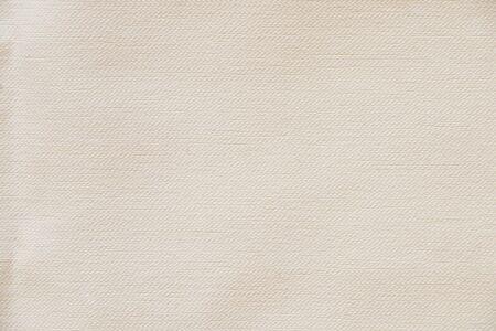 Photo pour white plain cotton fabric as background close up - image libre de droit