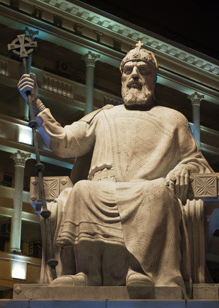 King Stature, the mighty king of Samuil, Macedonian king