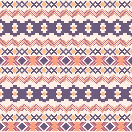 Horizontal Ethnic Aztec