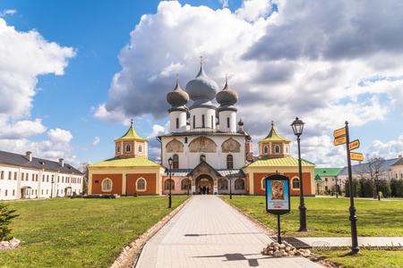 April 29, 2018, Russia Tikhvin Tikhvin Bogorodichny Assumption Monastery