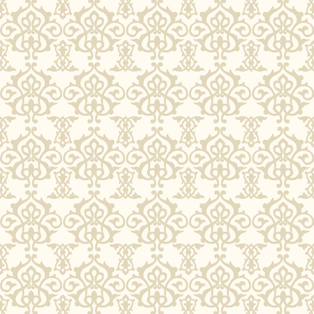 Illustration for Middle Eastern Seamless Pattern Background - Royalty Free Image