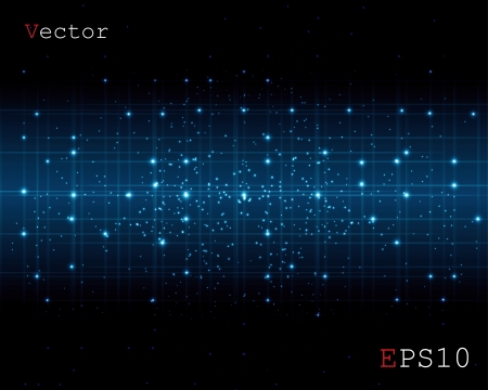 abstract space of a digital background
