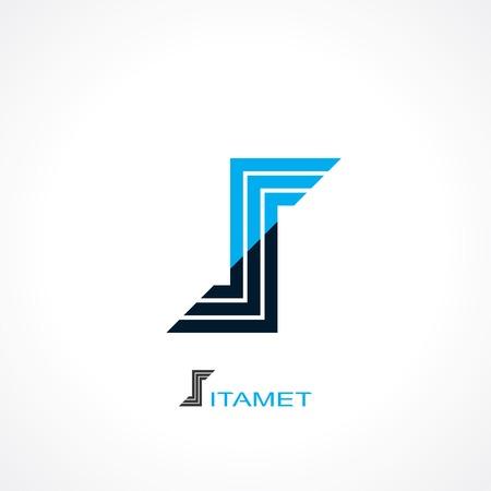 symbol of letter s. template logo design. vector eps8