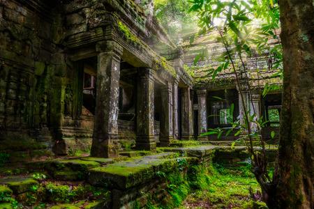 Among the ruins of Preah Khan in Siem Reap, Cambodia.