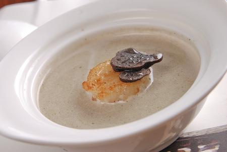 French black truffle soup