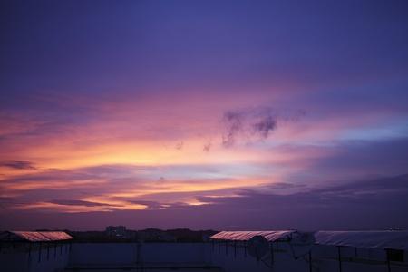 Surreal Sunset, India