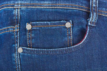Foto de Pocket on jeans - fashion background - Imagen libre de derechos
