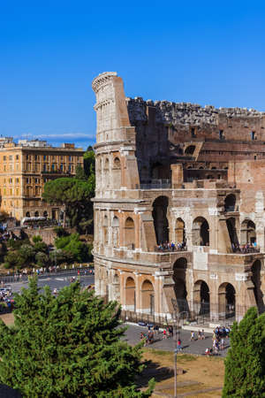 Coliseum in Rome Italy - architecture background