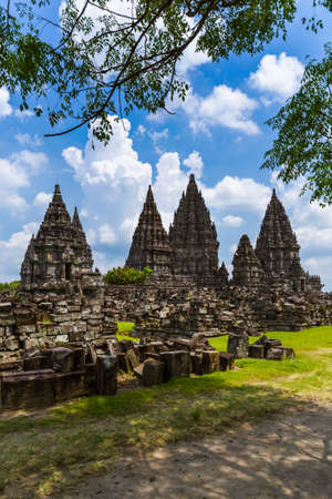 Foto für Prambanan temple near Yogyakarta on Java island Indonesia - travel and architecture background - Lizenzfreies Bild