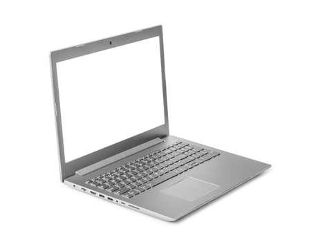 Foto de Notebook computer isolated on white background - Imagen libre de derechos