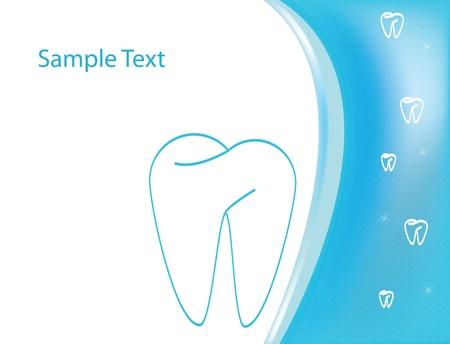 Dental medical form or logo