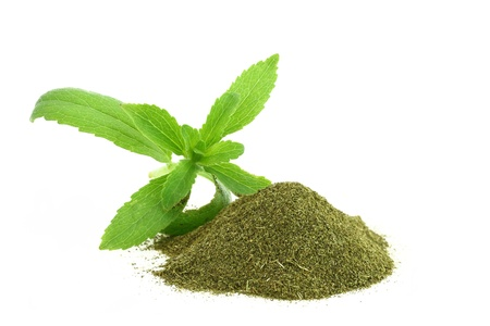 Fresh and dry Stevia Rebaudiana