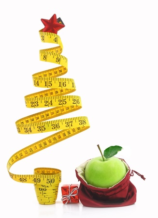 Photo pour Healthy holiday food and diet  - image libre de droit