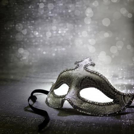Vintage venetian carnival mask