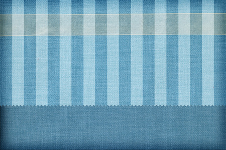 Photo pour Decorative fabric background. Scrapbook, photobook concept - image libre de droit
