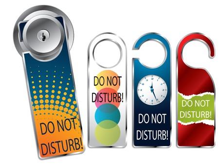 Do not disturb label set