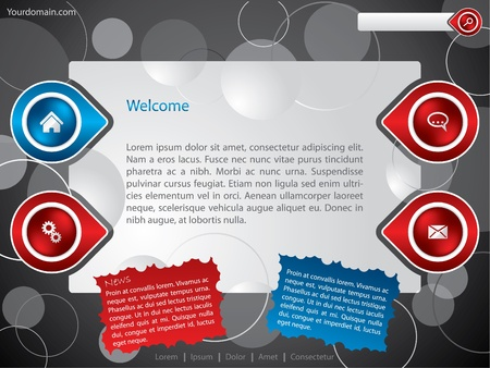 Personal website/blog template