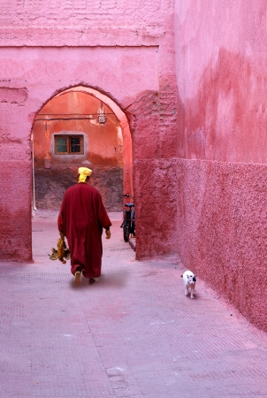 Red city Marrakech Morocco