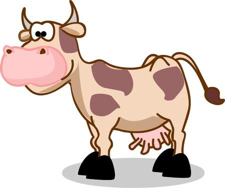 Foto de Cartoon cow  - Imagen libre de derechos