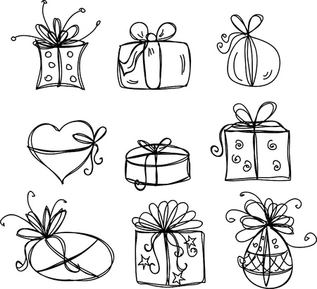 Sketches gift packages
