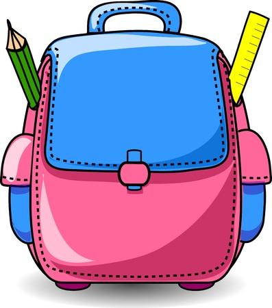 Cartoon School Bag