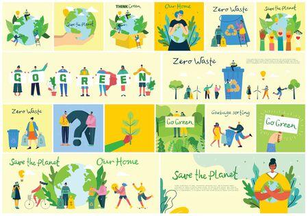 Illustration pour Save the planet. - image libre de droit