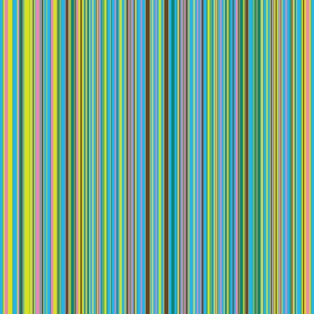 Ilustración de Retro (seamless) stripe pattern with bright colors - Imagen libre de derechos