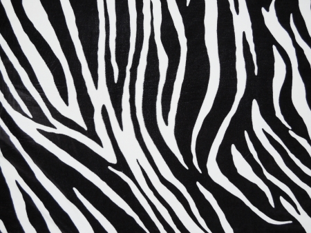 Black And White Zebra Print - Vertical