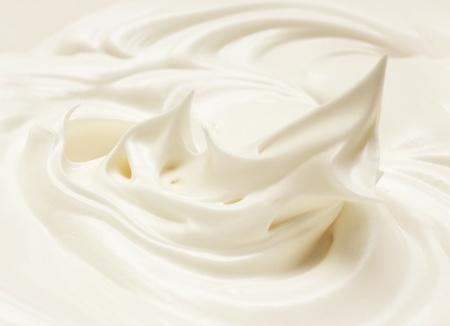 cream meringue for pastry. beaten egg white