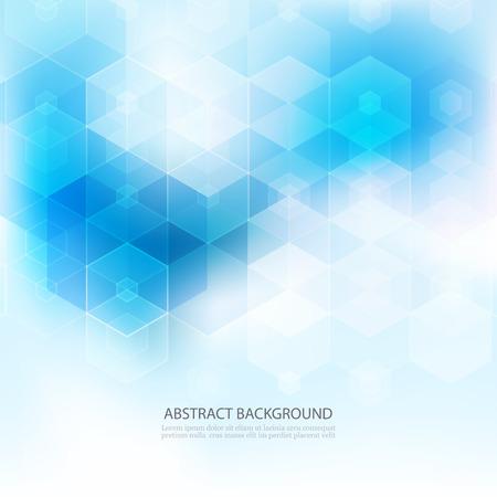 Photo pour Abstract science Background. Hexagon geometric design. EPS 10 - image libre de droit