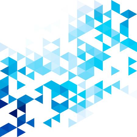 Photo pour Blue grid mosaic background. Creative design templates - image libre de droit