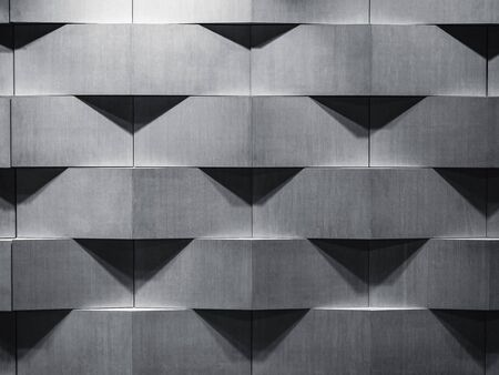 Photo pour Architecture details wall pattern geometric abstract background - image libre de droit