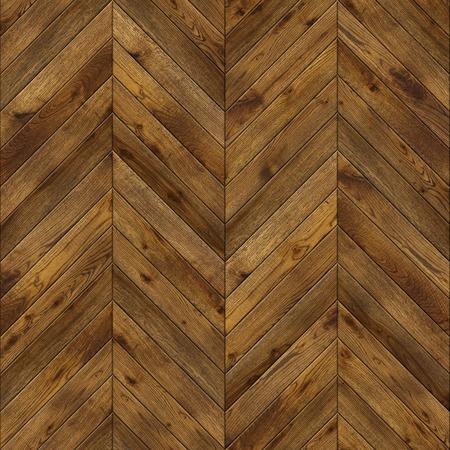 Photo pour Natural wooden background herringbone, grunge parquet flooring design seamless texture for 3d interior - image libre de droit
