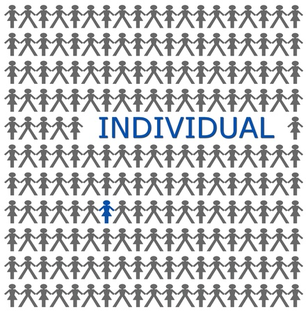 Stand out from the crowd, be individual