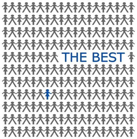 Stand out from the crowd, be the best