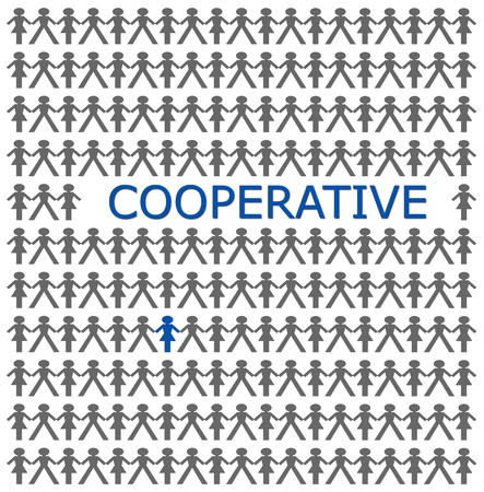 Stand out from the crowd, be cooperative