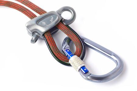 Climbing equipment for safe climbing sportsmen