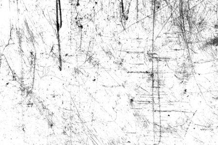Foto de black scratches with spots on a white - Imagen libre de derechos