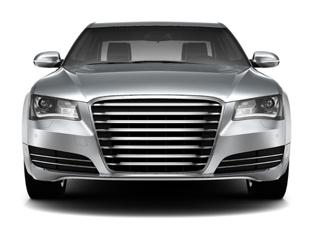 LUXURY SEDAN - front view