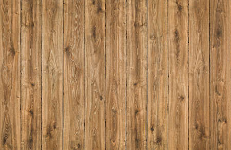 Photo for Wood Texture Planks Background, Brown Wooden Fence, Oak Grain Textured Plank, Wall or Floor Pattern - Royalty Free Image